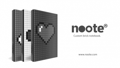 Noote – Custom Brick Notebook